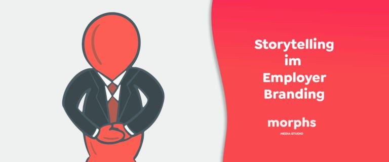 Header Bild vom Blogartikel Storytelling im Employer Branding